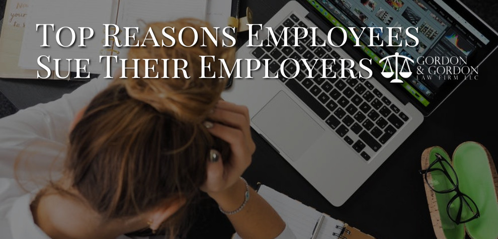grounds to sue an employer